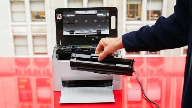 Відновлення засохлого принтера.