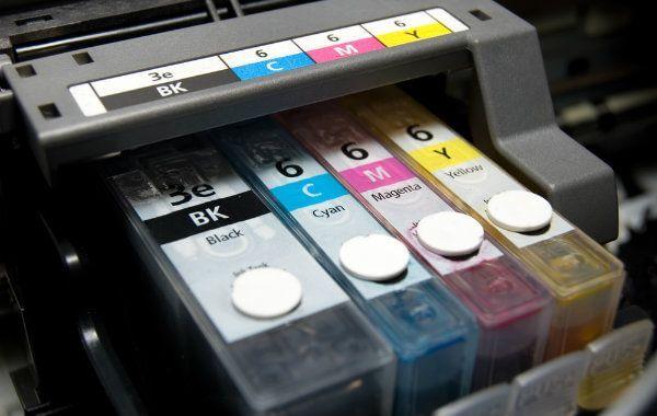 Обсяг картриджів лазерного і струменевого принтера.